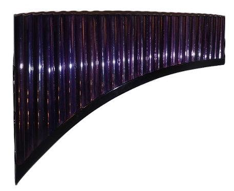 Professional Tenor 25 Pipes Dark Purple Pan Flute