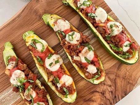 Italian Zucchini Boats
