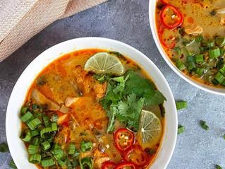 Tom Kha Gai (Thai Coconut Chicken Soup)