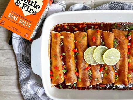 Asian Enchiladas