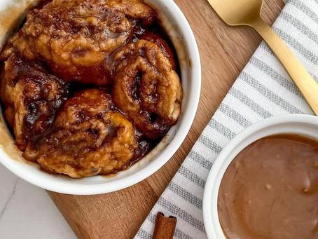 Cinnamon Rolls In A Mug