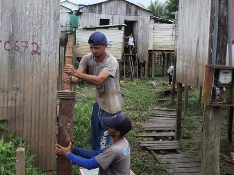 Prefeita Maria Lucinéia manda construir novo Trapiche do Altas horas