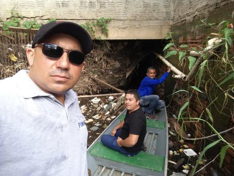 Prefeitura de Tarauacá leva serviços de limpeza em igarapés da cidade