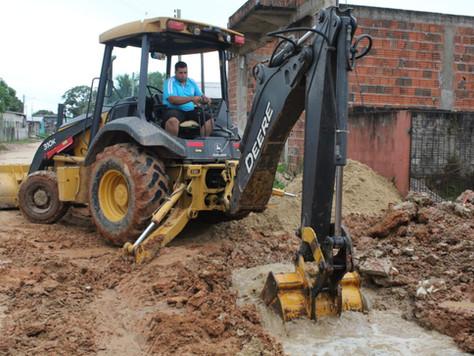 Prefeitura de Tarauacá realiza construção de galerias pluviais