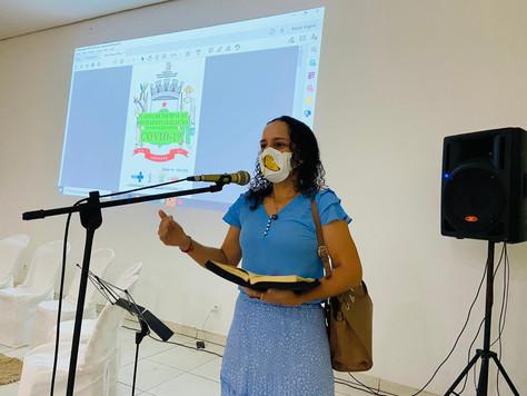 Prefeita Maria Lucinéia apresenta plano de imunização contra a COVID-19 para Tarauacá