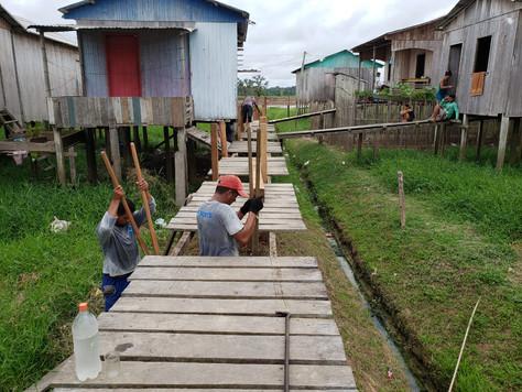 Prefeita Marilete Vitorino manda construir novo Trapiche do Altas horas