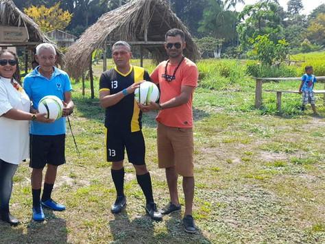 Prefeitura incentiva prática de esporte na zona rural