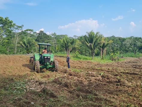 Prefeitura de Tarauacá beneficia Presídio Moacir Prado com serviço de arado