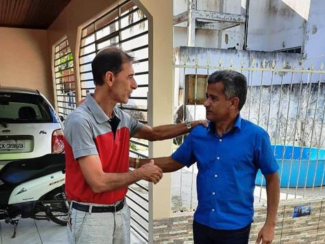 Raimundo Maranguape recebe visita do vice-prefeito de Feijó