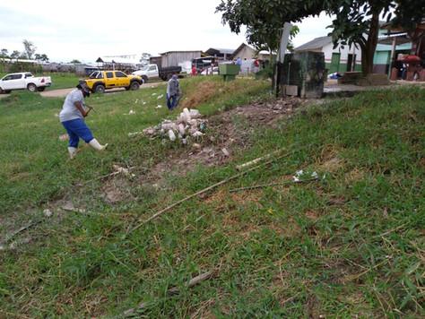 Secretaria realiza ''super limpeza'' no Mercado Municipal Domingos do Rego Leite