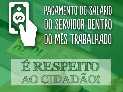 Pagamento em Dia: Marilete anuncia pagamento do salário de janeiro aos servidores municipais