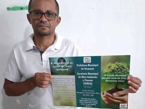 Prefeitura lança campanha de educação ambiental em Tarauacá