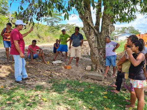 Secretário de Agricultura de Tarauacá se reúne com produtores rurais do município