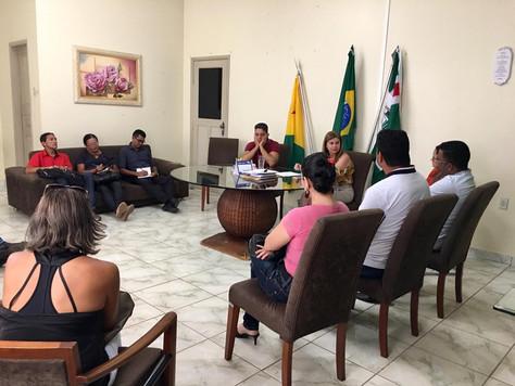 PREFEITA MARILETE SE REÚNE COM DIRETORES DE ESCOLAS DA REDE MUNICIPAL