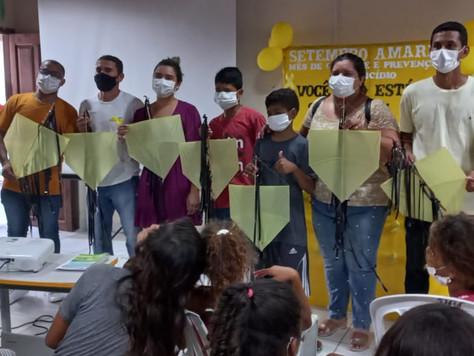 Secretaria de Assistência Social realiza ações alusivas ao setembro amarelo em Tarauacá