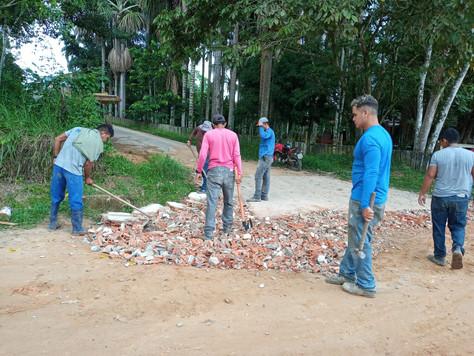 Prefeitura continua a recuperar ruas com a operação tapa–buracos