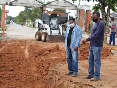 Prefeitura prossegue com recuperação das ruas de Tarauacá