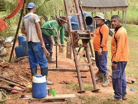 Prefeitura e Governo do Estado perfuram poços em Tarauacá
