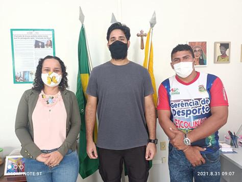 Prefeitura de Tarauacá e Ifac firmam parceria na área de Educação Física