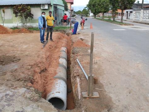 Em ritmo acelerado, Prefeitura de Tarauacá segue com obras nos bairros