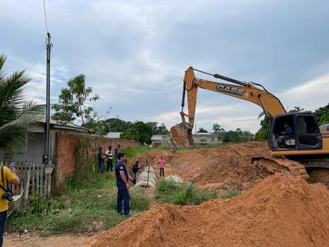 Prefeitura de Tarauacá investe em construção de bueiros