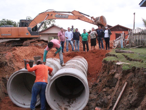 Obra de drenagem leva qualidade de vida para população
