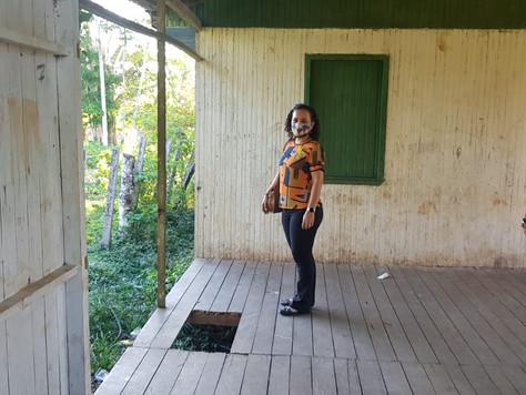 Prefeita Lucinéia visita escolas preparando volta às aulas e detecta vários problemas de manutenção