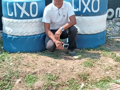 Lixeiras ecológicas são instaladas em Tarauacá