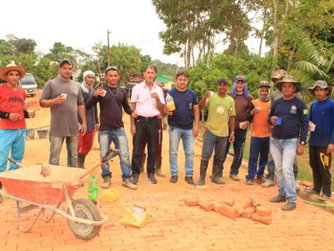 Prefeito em exercício Raimundo Maranguape acompanha Obras na Vila São Vicente