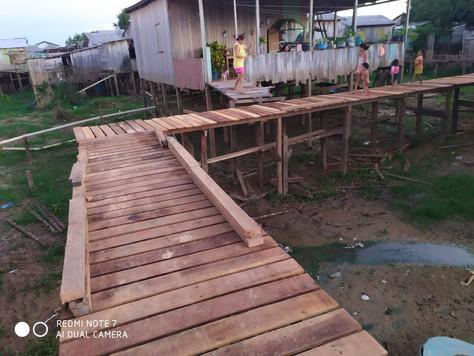 Prefeitura Municipal de Tarauacá está construindo trapiche em área de difícil acesso