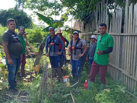 Prefeitura intensifica a limpeza em córregos e igarapés em Tarauacá