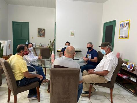 Prefeita Maria Lucinéia recebe visita do senador Sérgio Petecão
