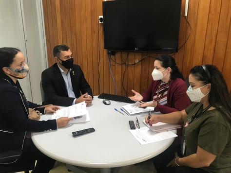 Prefeita Maria Lucinéia solicita ao Ministério da Saúde a contratação de mais médicos para Tarauacá