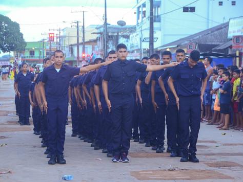 TARAUACÁ COMEMORA 106 ANOS DE FUNDAÇÃO COM DESFILE DA GUARDA MIRIM E PALCO CULTURAL