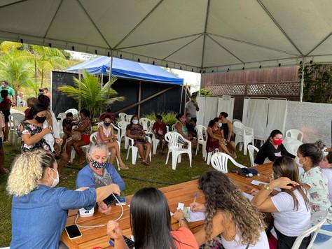 No Acuraua, Ação Humanitária Itinerante promove mais de 3.280 atendimentos em Tarauacá