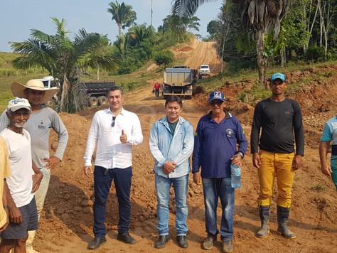 Prefeitura avança no reparo de ramais, pontes e bueiros de Tarauacá