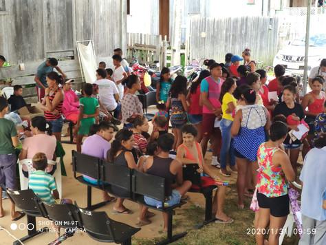 Prefeitura de Tarauacá realiza ação Mais Saúde no povoado da Rua Chicão Mezer