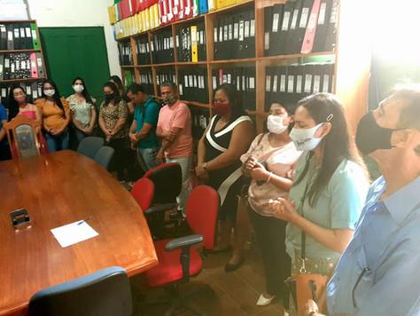 Raimundo Maranguape reúne Secretariado e servidores para traçar metas dos cem dias