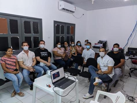 Equipe de Saúde Bucal participa de web palestra sobre procedimentos de Exodontia em Tarauacá