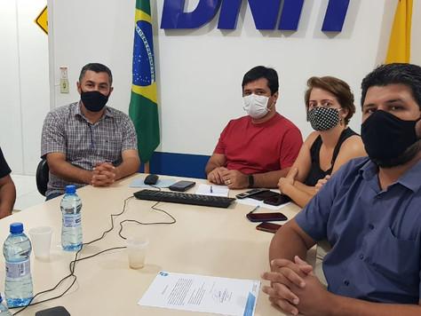 Secretário de Obras Rosenir faz visita ao Dnit em Rio Branco