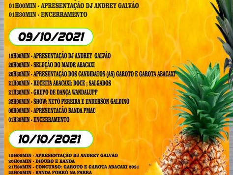 Feira do Abacaxi e Agricultura Familiar começa nesta sexta-feira, no município de Tarauacá