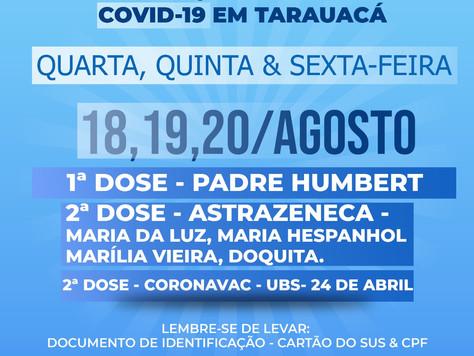 Veja calendário de vacinação contra COVID-19
