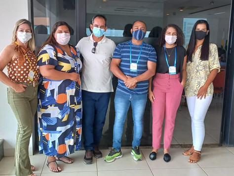 Secretária Camila com sua equipe vai à 12° Conferência Estadual de Assistência Social em Rio Branco