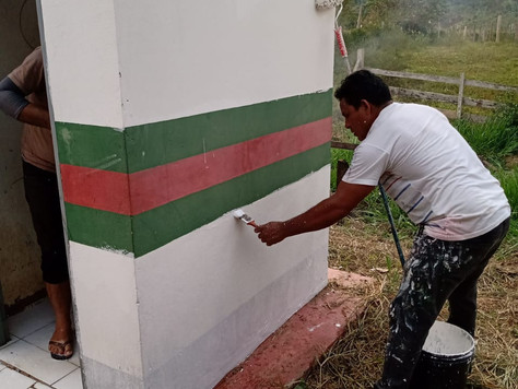 Escolas passam por obras de manutenção e reforma na zona rural de Tarauacá