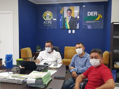 Secretário de Obras Rosenir comemora chegada de mais recursos para pavimentação de ruas em Tarauacá