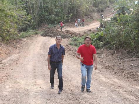 Vice-prefeito Raimundo Maranguape visita recuperação de ramais