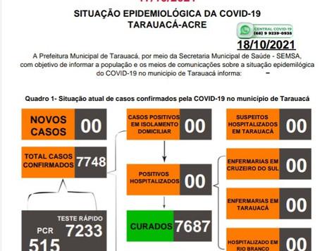 Covid-19 atualizado, 17/10/2021