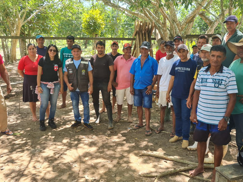 Secretário Narcélio Bayma se reúne com agricultores da Comunidade do Socó