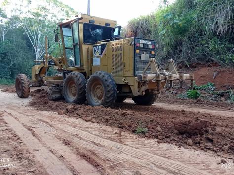 A Todo Vapor – Prefeitura Intensifica Serviços de Recuperação de Ramais em Tarauacá
