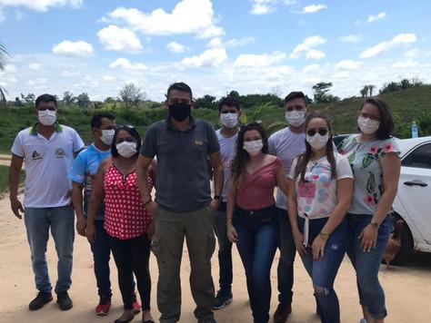 Secretaria de Saúde realiza atendimento aos moradores no entorno do lixão